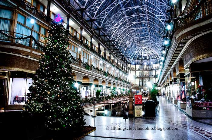 The Photos Feature The Christmas Tree And Holiday Lights On Public Square The Arcade And Tower City Have A Merry Christmas And A Happy Holiday Season