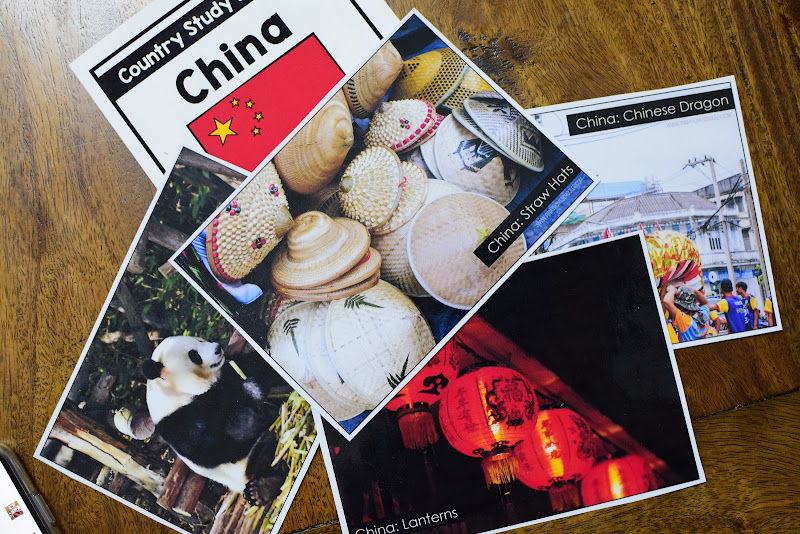 COUNTRY STUDY CHINA: Photo Cards