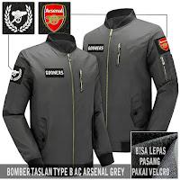 Jual Jaket Bomber Arsenal