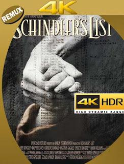 La Lista De Schindler [1993]4K REMUX 2160p UHD [HDR] Latino [GoogleDrive]