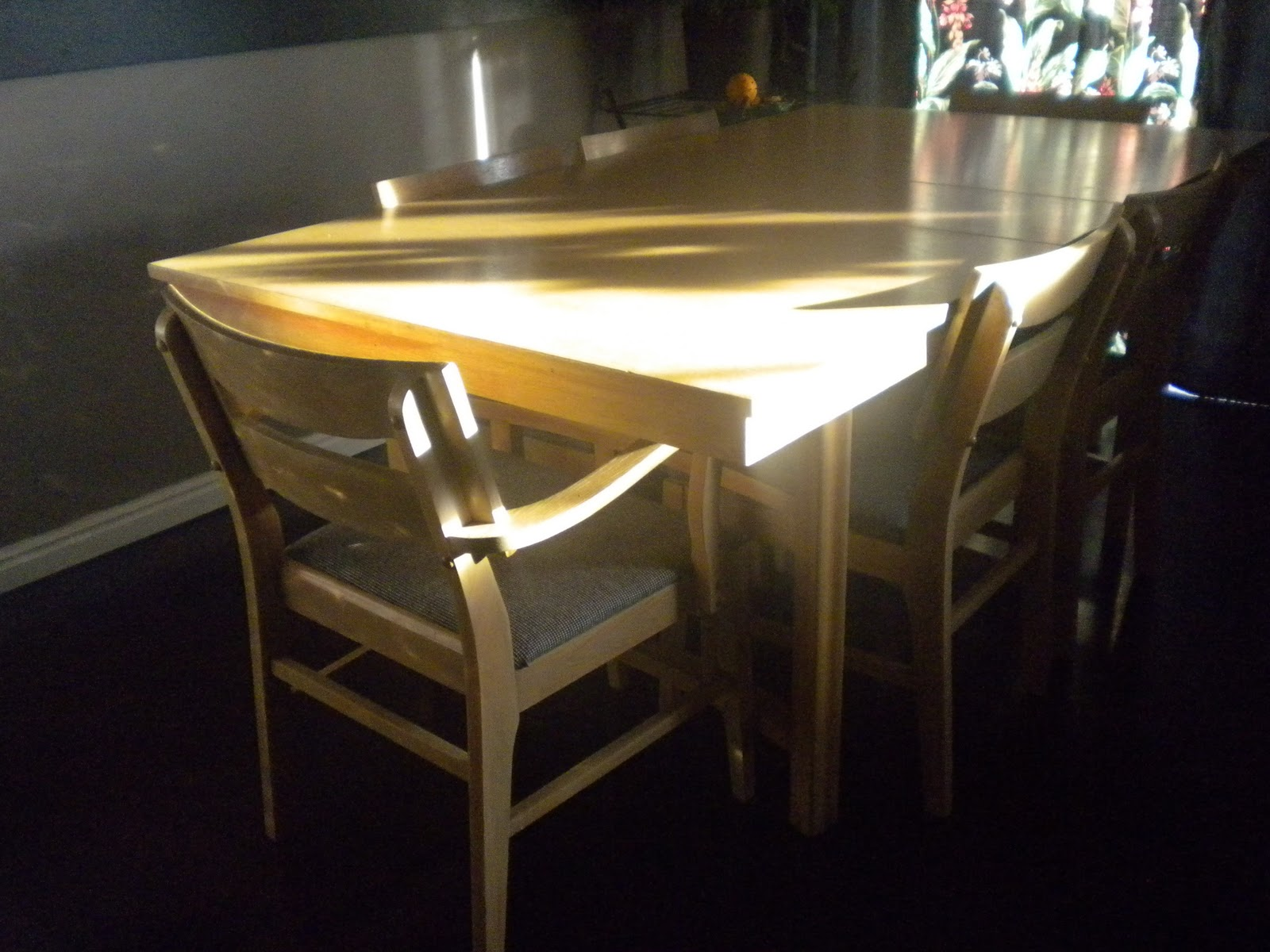 First Up Is A 1950 S Blonde Wood Mid Century Dining Table 300 Email Melanie C21rockies Or Text Call 801 318 7828