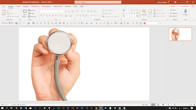 background Introduction powerpoint medical stethoscope