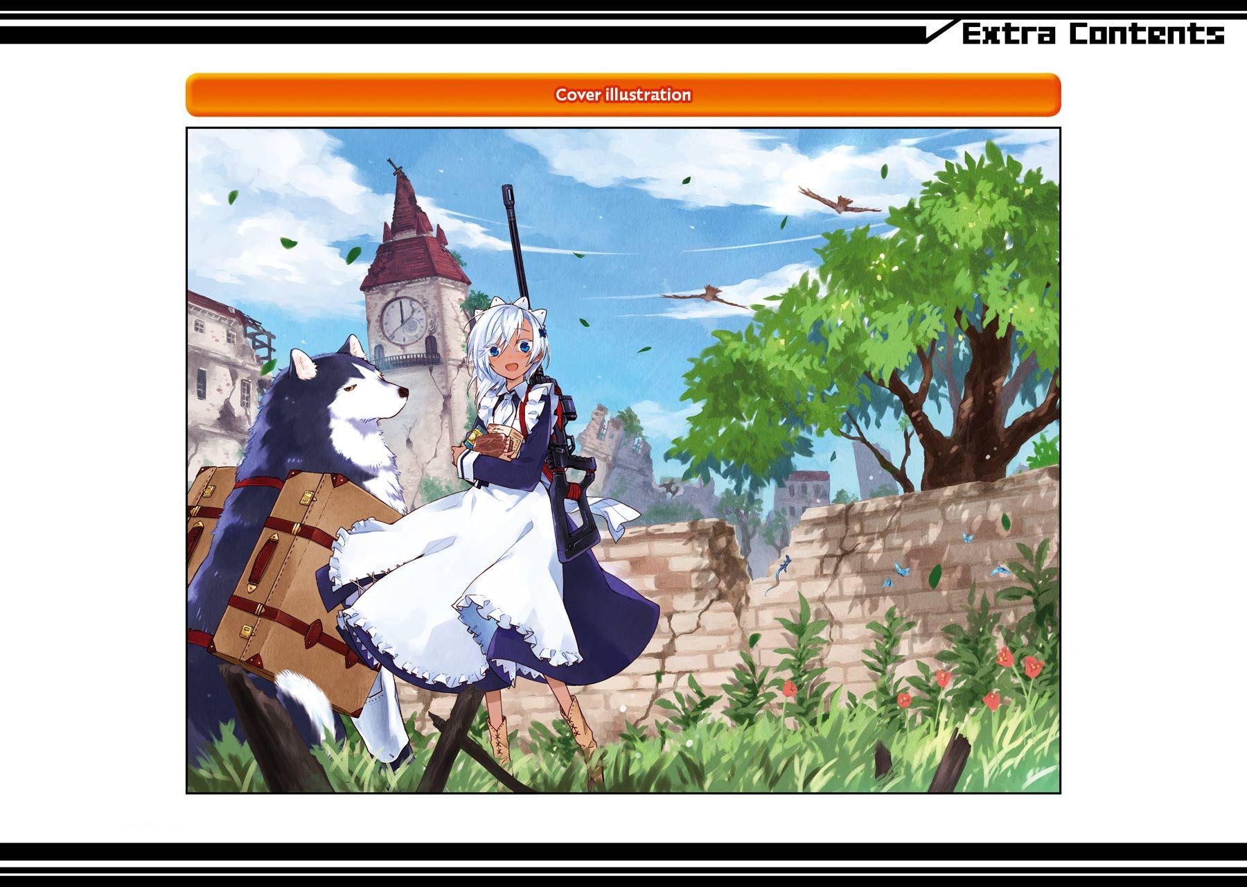 อ่านการ์ตูน Tabi to Gohan to Shuumatsu Sekai ตอนที่ 4.5 หน้าที่ 11