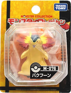 Typhlosion figure Takara Tomy Monster Collection M series