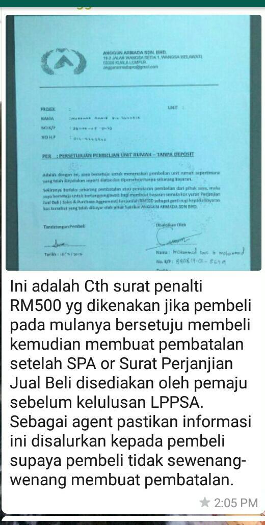 ANGGUN ARMADA PROPERTIES IN MALAYSIA (Tanpa Wang Muka @ Deposit