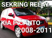 sekring dan relay KIA PICANTO 2008-2011