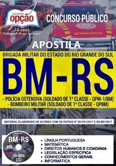 Apostila Concurso Brigada Militar-RS 2017