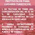 Protocolos para Lugares Turísticos de Álamos