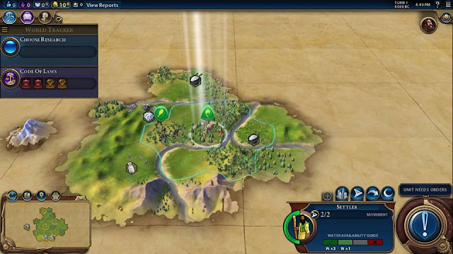 Civilization 6 Screenshot - begin game