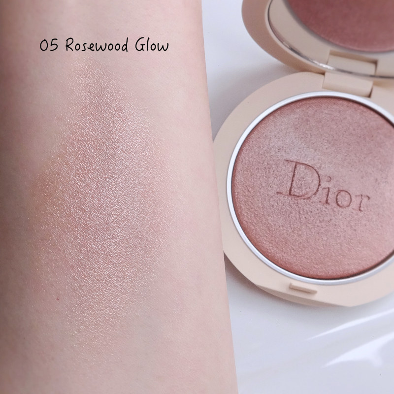 Dior Couture Luminizer Rosewood Glow (05) swatch