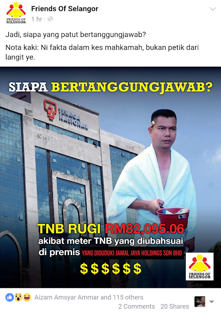 Jamal Samseng Terlibat Dalam Gerakan Merah