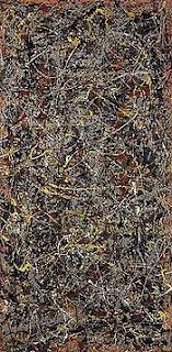 """No. 5, 1948"", Jackson Pollock"