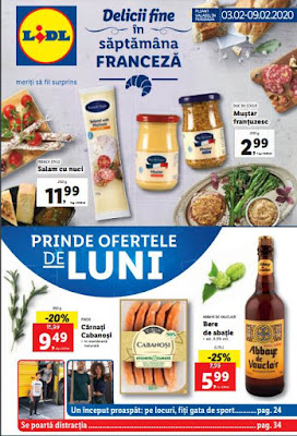 brosura lidl saptamana franceza 3 - 9 februarie 2019