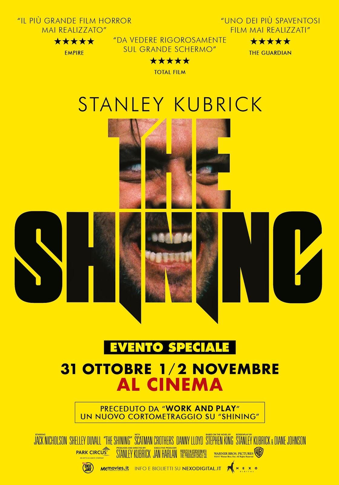 ef936d71692787 Dal romanzo di Stephen King pubblicato nel 1977 che più lo ispirò, Stanley  Kubrick trasse uno dei suoi capolavori: Shining. Il cult movie, girato tra  il ...