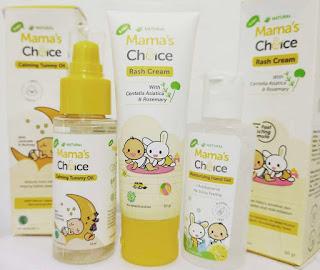 Rangkaian produk mama's choice baby series