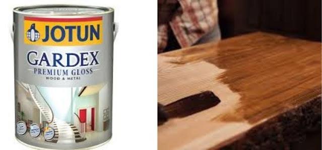 cat kayu jotun gardex