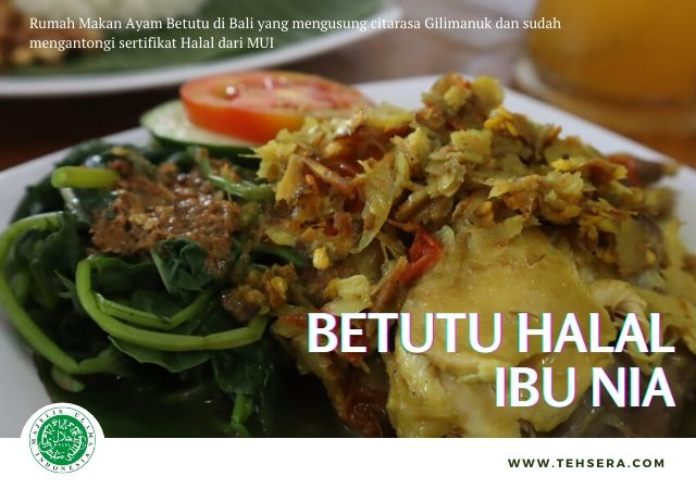 Ayam betutu Ibu Nia – rekomendasi kuliner halal di Bali