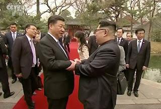 Kim Jong Un et Xi Jinping