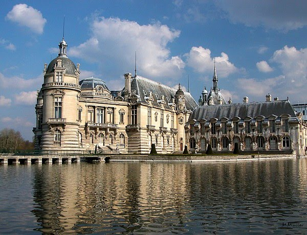 Chantilly perto de Paris