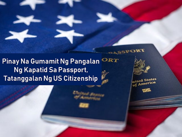 A Filipino woman faked her own death and stole her sister's identity just to apply for a passport. Unfortunately, she is now about to lose her U.S. citizenship. Identity theft is a serious crime.      Ads  Sponsored Links  A 43-year-old Emilita Arindela, of Mount Desert Island, was sentenced to 10 days in jail for making a false statement on her passport application in federal court in Maine. It's unclear if she will be stripped off of her American citizenship by federal authorities but it is more likely to happen.  Prosecutors say Arindela was already married when she married an American man in 2000. She moved to the U.S. in 2002 and later became a naturalized citizen, using her sister's name. Arindela left her second husband and married another man in 2007.  Arindela's lawyer says his client escaped an abusive marriage in the Philippines and has been a obedience to the US laws. Filed under the category of  Filipino woman , passport, U.S. citizenship, Identity theft