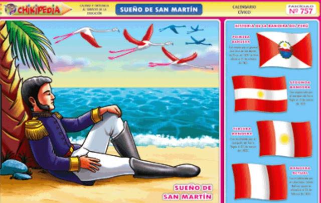 Dibujos Sueño General San Martín