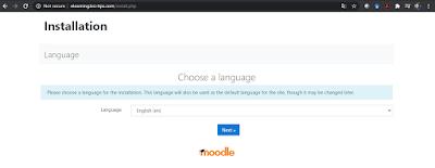 Instalation Moodle 3.9 Not Secure