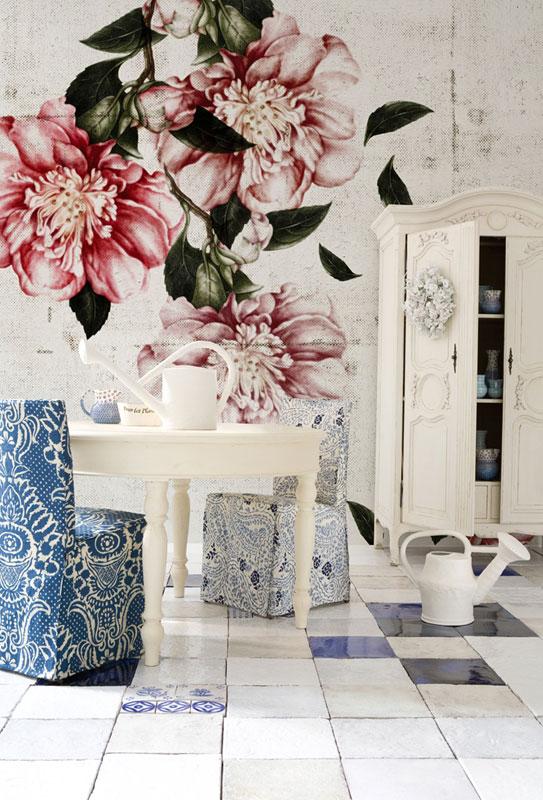 un arredamento floreale architettura e design a roma. Black Bedroom Furniture Sets. Home Design Ideas