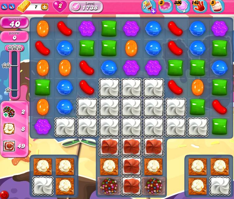 Candy Crush Saga 1738