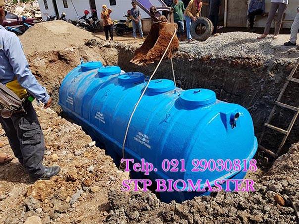 cara instalasi septic tank biomaster biotech