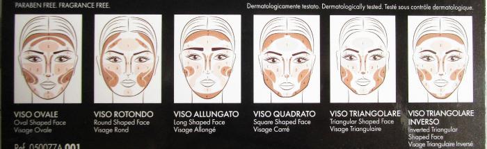 pupa Milano - #Ready4Selfie Contouring & Strobing Powder Palette - Anleitung für jede Gesichtsform