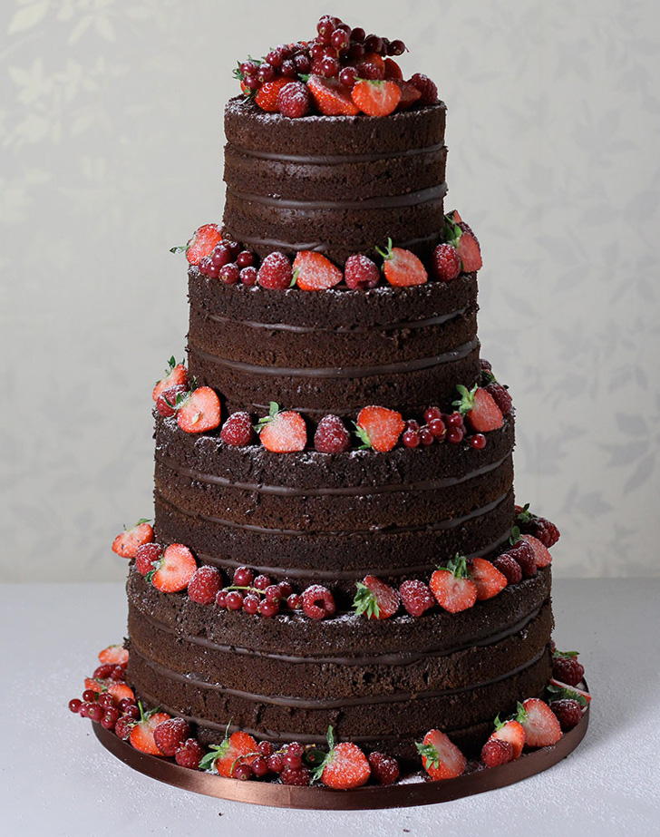 8 Mouth Watering Chocolate Wedding Cakes