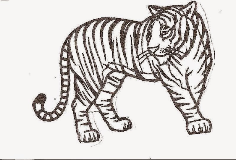 Tigers coloring pages | Free Coloring Pages | 541x798