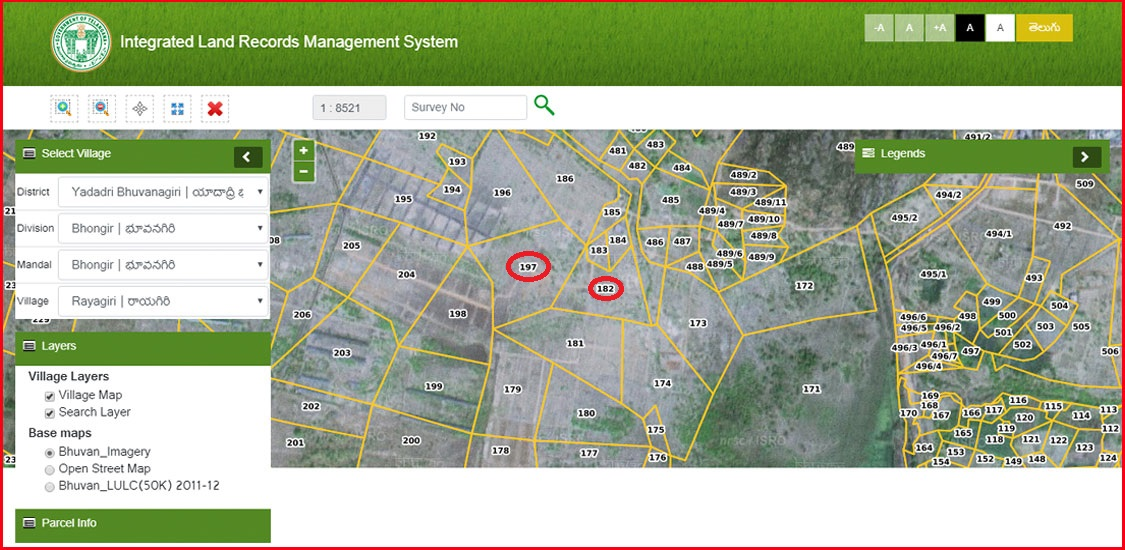 Integrated Land Records Management System