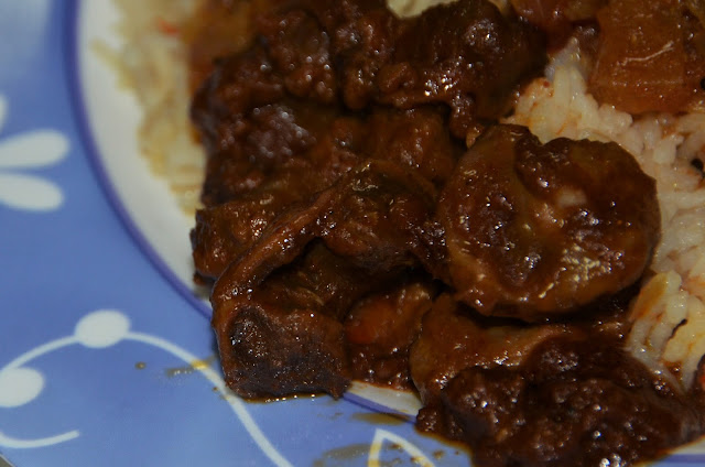 indian style spicy chicken gizzard