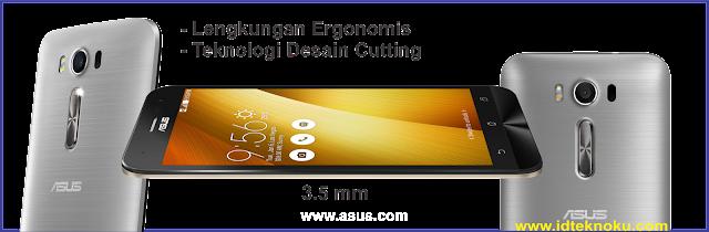 Lengkungan Ergonomis pada Asus Zenfone 2 Laser 5.0 ZE500KG