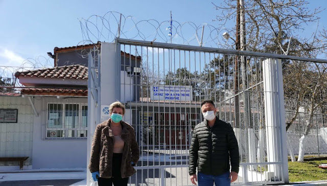 """Η Γ.Γ. Σωφρονιστικής και Αντεγκληματικής πολιτικής """"κουβέντιασε με τους κρατούμενους"""" στις φυλακές Ναυπλίου"""