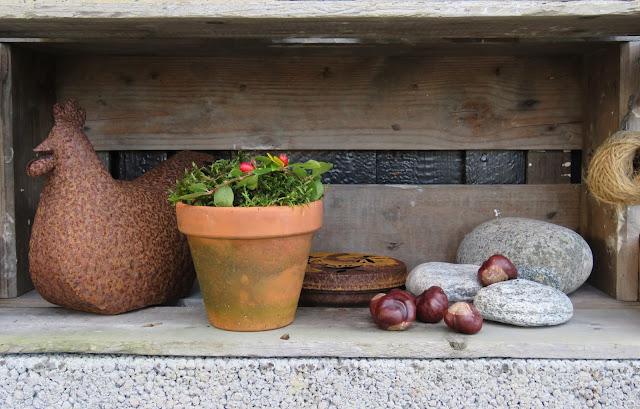 Tips til lettvint bruk av mose - dekorasjon i Furulunden