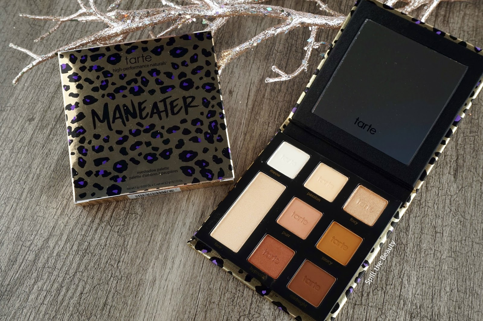 Tarte 'Maneater' Palette – Review, Swatches, and Look