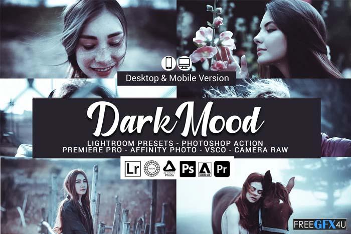 Dark Mood Lightroom Presets