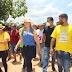 FOTOS! Sâmia Moreira recebe visita do Senador Weverton Rocha em grande festa na cidade de Santa Quitéria/MA