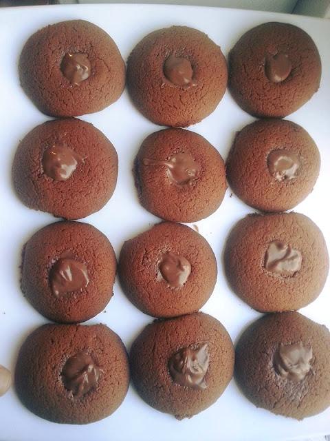 recette des petits gâteaux au chocolat
