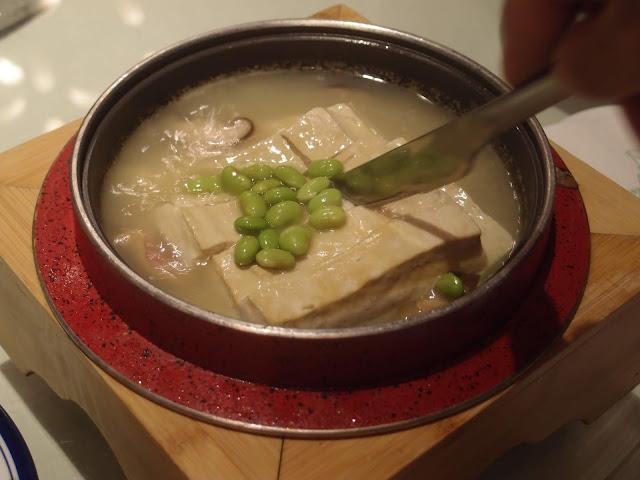 问柳煮豆腐
