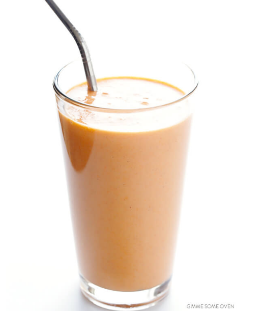 CARROT CAKE SMOOTHIE #drink #smoothie #carrot #party #healthy