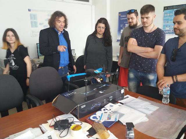 Εκπαιδευτική επίσκεψη του Δ.ΙΕΚ Άργους στο Τμήμα Πληροφορικής και Τηλεπικοινωνιών του Πανεπιστημίου Πελοποννήσου
