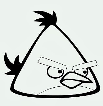 Maestra de Primaria: Dibujos para colorear de Angry Birds ...