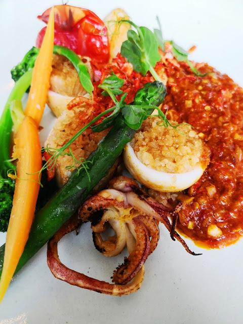 Racines Resturant Squid