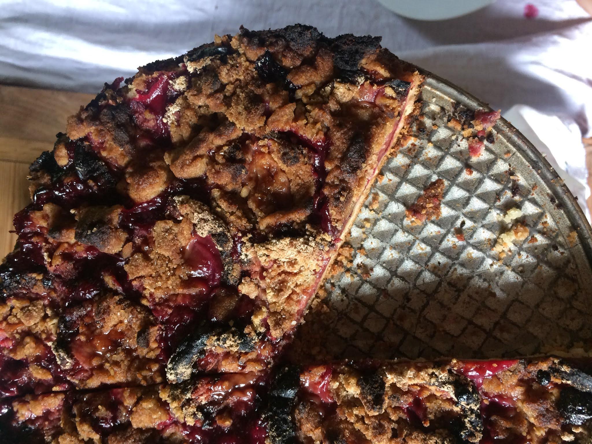Die guten Dinge Blog Pflaumenkuchen Rezept