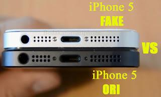 Perhatikan Lubang Headset, Laudspeaker dan Lubang USB iPhone 5
