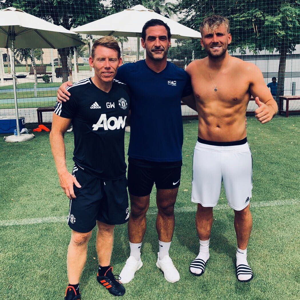 Luke Shaw is in great shape physically after a personal pre-season programme in Dubai
