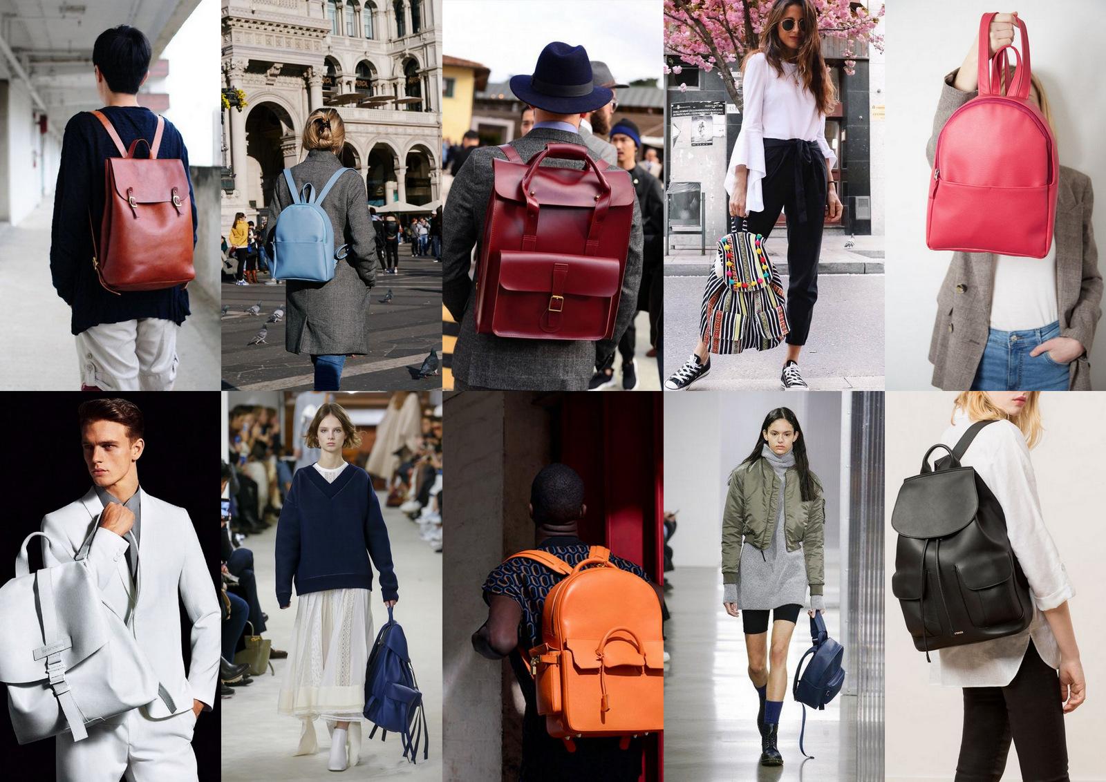 ba61207846 Viaceré ruksaky majú aj ušká a veľmi rýchlo z nich urobíte kabelku alebo  aktovku. Mne sa osobne veľmi zapáčili pastelovo modré ruksaky a  minimalistické ...